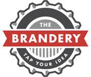 """The Brandery logo with """"Tap Your Idea"""" tagline"""