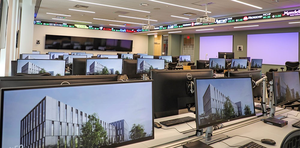 Rendering of Johnson Investment Council Investment Lab
