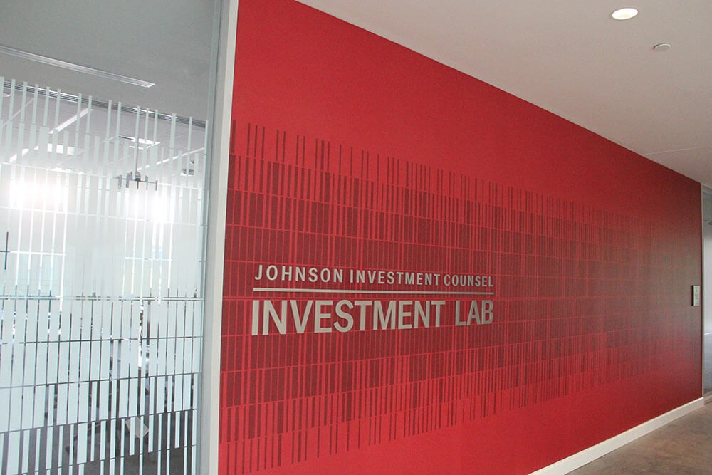 Rendering of the exterior of the Johnson Investment Lab